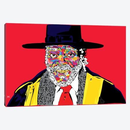 Sam L. In Hateful 8  Canvas Print #TDR83} by TECHNODROME1 Canvas Artwork