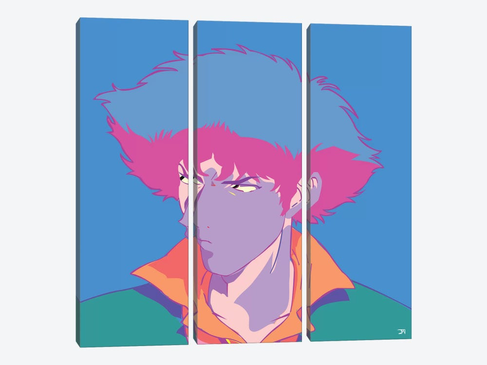 Spike S. 3-piece Canvas Art Print