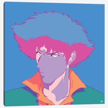 Spike S. Canvas Print #TDR85} by TECHNODROME1 Canvas Art Print