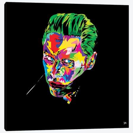 The Joker Sucide Squad Canvas Print #TDR86} by TECHNODROME1 Canvas Print