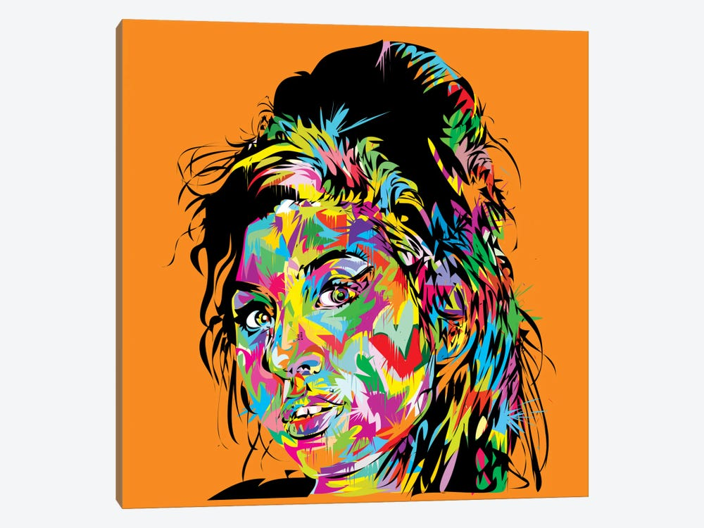 Amy Winehouse by TECHNODROME1 1-piece Art Print