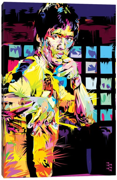 Bruce Lee I Canvas Print #TDR88