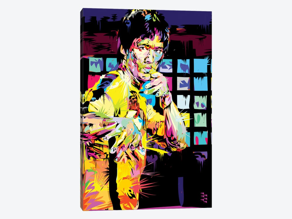 Bruce Lee I by TECHNODROME1 1-piece Canvas Wall Art