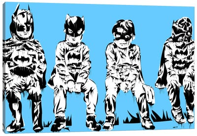 Baby Batmans Canvas Print #TDR8