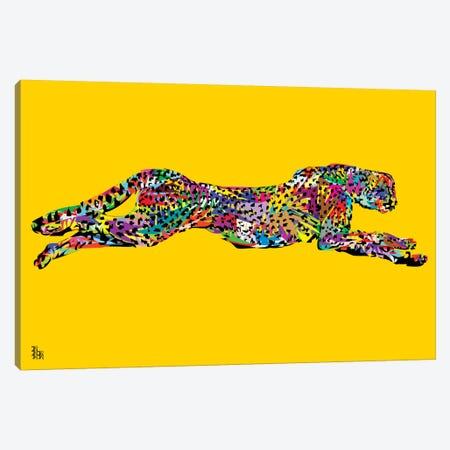 Cheetah Canvas Print #TDR90} by TECHNODROME1 Canvas Art Print