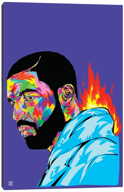 Drake Canvas Art Print