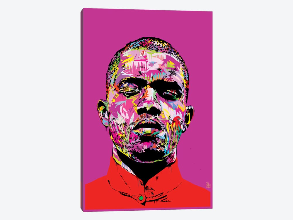 Frank Ocean by TECHNODROME1 1-piece Canvas Art