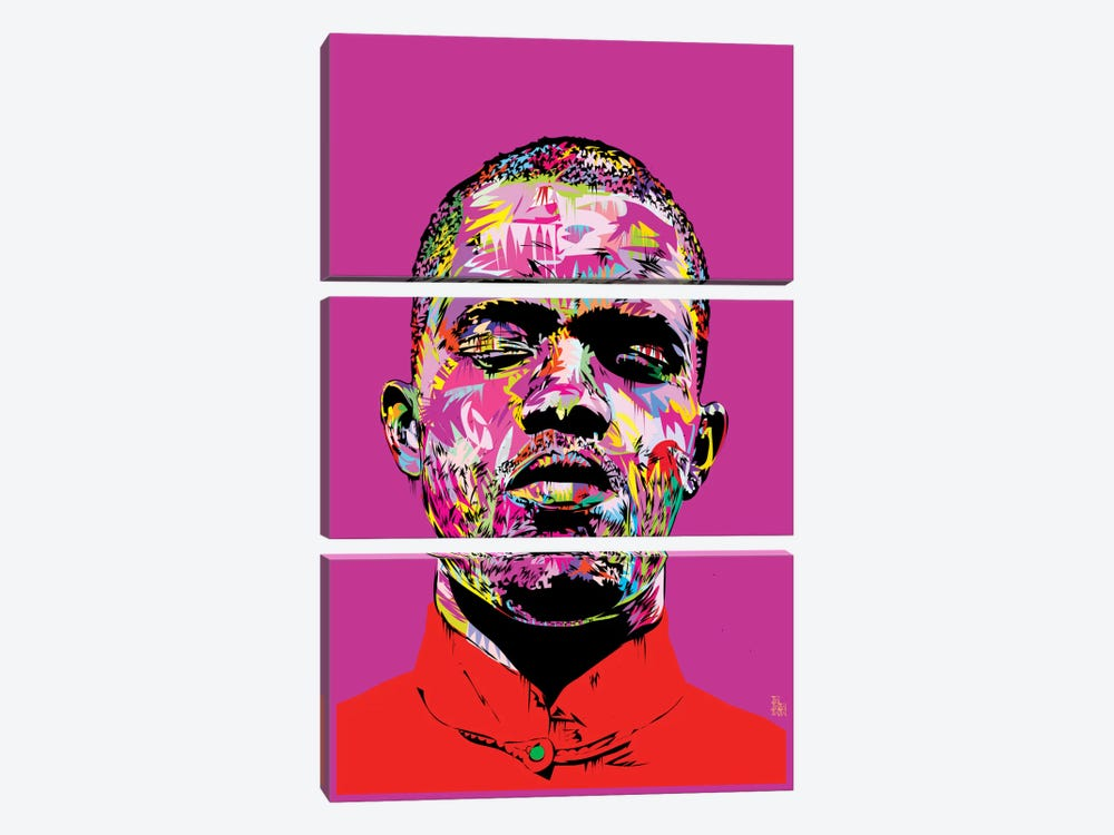 Frank Ocean by TECHNODROME1 3-piece Canvas Art