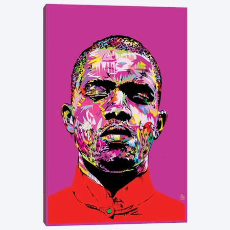 Frank Ocean Canvas Print #TDR93} by TECHNODROME1 Canvas Art Print