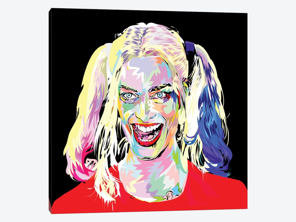 Harley Quinn by TECHNODROME1 1-piece Canvas Wall Art
