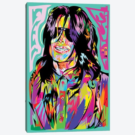 Jacko Canvas Print #TDR96} by TECHNODROME1 Canvas Wall Art