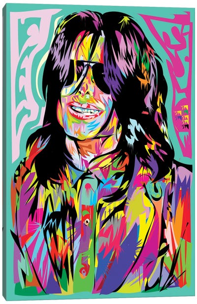 Jacko Canvas Art Print