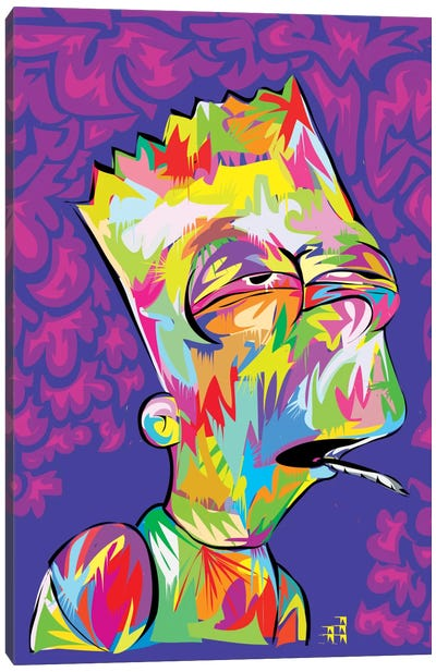 Bart's High Canvas Art Print