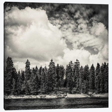 Far Away Clouds Passing By Canvas Print #TDS10} by Tordis Kayma Canvas Artwork