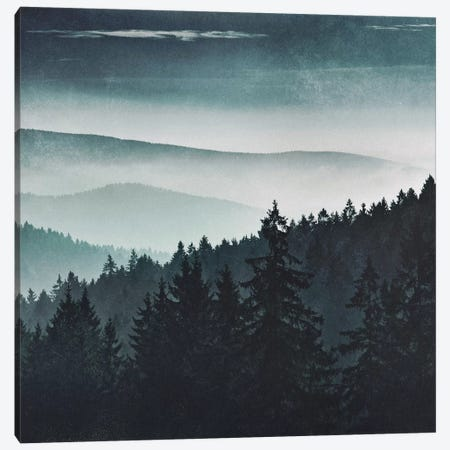 Mountain Light Canvas Print #TDS28} by Tordis Kayma Canvas Print