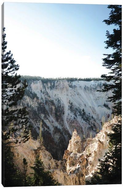 Yellowstone Peak Canvas Art Print