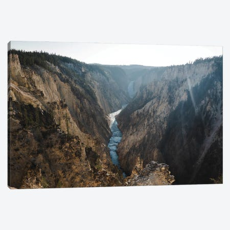 Sunrays Over Yellowstone In Color Canvas Print #TEA21} by Teal Production Canvas Art
