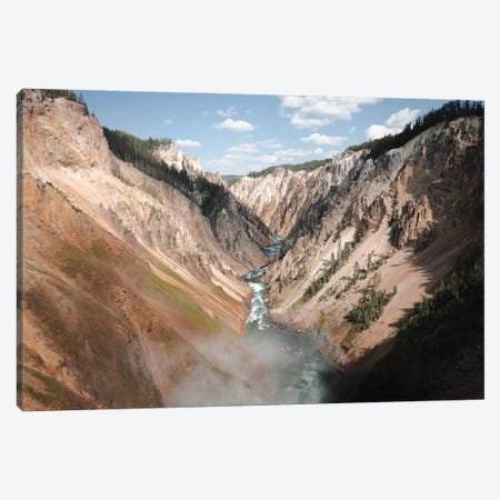 Yellowstone Afternoon Canvas Print #TEA34} by Teal Production Canvas Wall Art