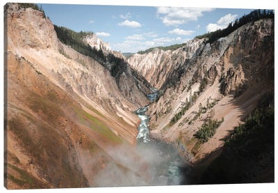 Yellowstone Afternoon Canvas Art Print