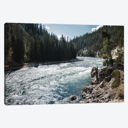 Yellowstone River Canvas Print #TEA35} by Teal Production Canvas Wall Art