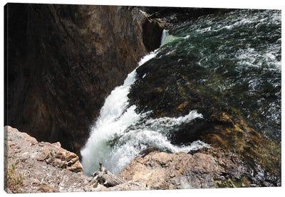 Yellowstone Waterfall Canvas Art Print