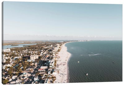 Aerial View Of Fort Myers Canvas Art Print