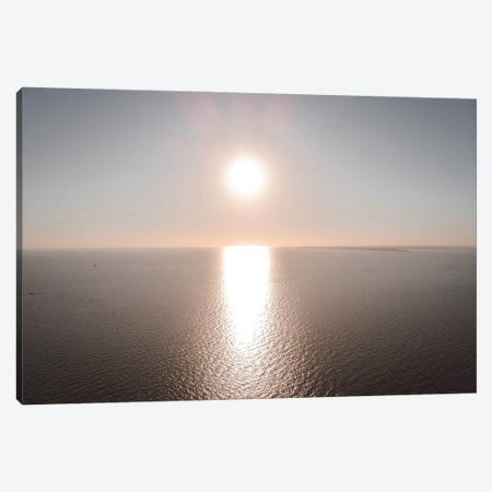 Sunset Over The Gulf Of Mexico Canvas Print #TEA43} by Teal Production Canvas Art