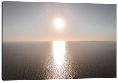 Sunset Over The Gulf Of Mexico Canvas Art Print