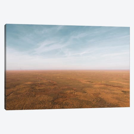 Stillness Over Florida Wetlands Canvas Print #TEA45} by Teal Production Canvas Art Print
