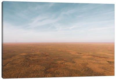 Stillness Over Florida Wetlands Canvas Art Print