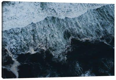 Oregon Coast Ocean Waves Ii Canvas Art Print