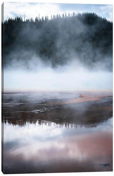 Phenomenal Yellowstone In Color Canvas Art Print