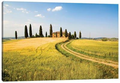 Countryside Villa, Tuscany Region, Italy Canvas Print #TEG3