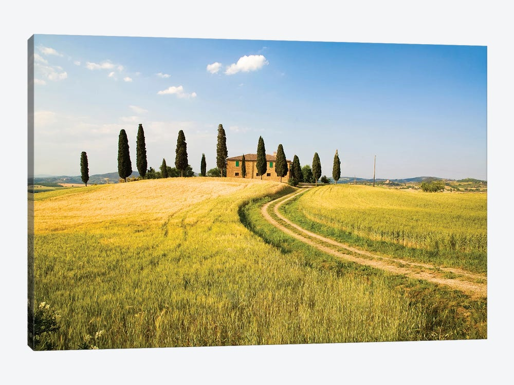 Countryside Villa, Tuscany Region, Italy by Terry Eggers 1-piece Canvas Print