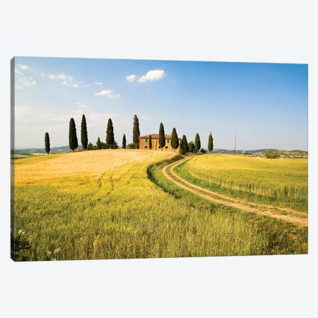 Countryside Villa, Tuscany Region, Italy Canvas Print #TEG3} by Terry Eggers Canvas Print