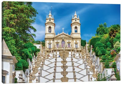 Bom Jesus do Monte complex Canvas Art Print