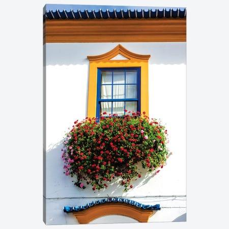 Portugal, Aveiro. Colorful houses. Canvas Print #TEG45} by Terry Eggers Canvas Print