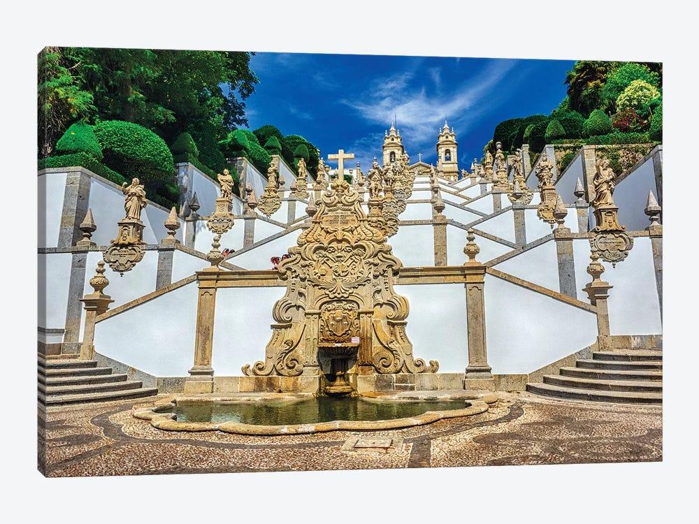 Portugal, Braga. Bom Jesus do Monte by Terry Eggers 1-piece Art Print