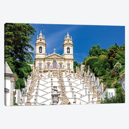 Portugal, Braga. Bom Jesus do Monte Canvas Print #TEG47} by Terry Eggers Canvas Print