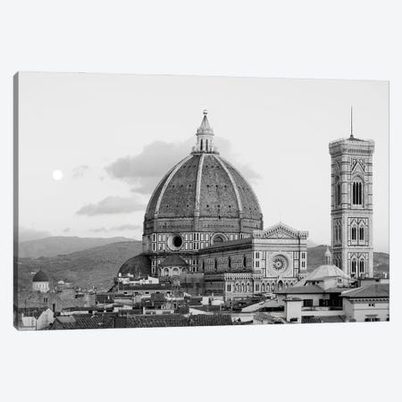 Italy, Florence. Infrared image of Santa Maria del Fiore on a sunny day. 3-Piece Canvas #TEG72} by Terry Eggers Canvas Print