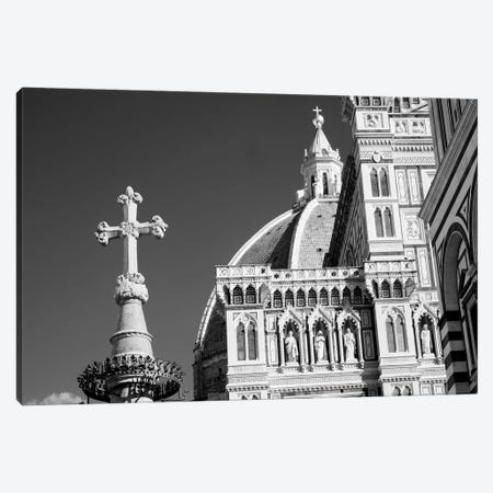 Italy, Florence. Infrared image of Santa Maria del Fiore on a sunny day. Canvas Print #TEG74} by Terry Eggers Canvas Artwork