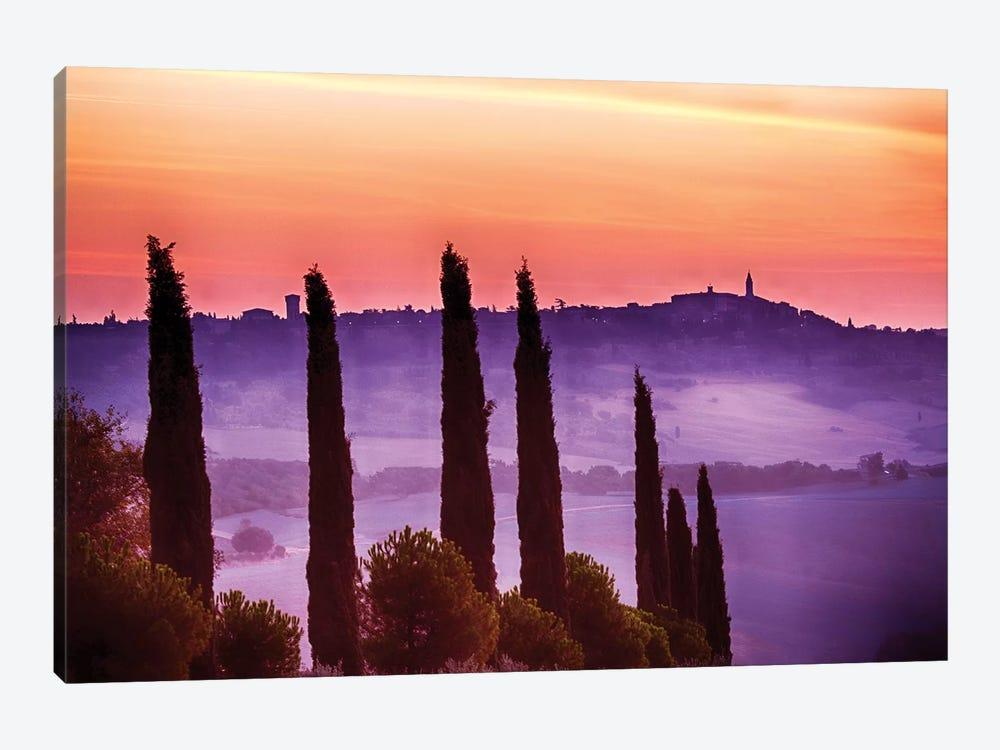 Morning Fog, Siena Province, Tuscany Region, Italy by Terry Eggers 1-piece Art Print