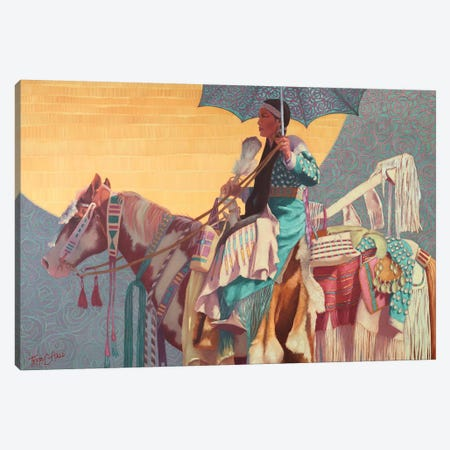 Lacy Daze Canvas Print #TEH10} by Terry C. Hall Canvas Artwork