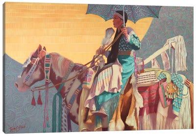 Lacy Daze Canvas Art Print