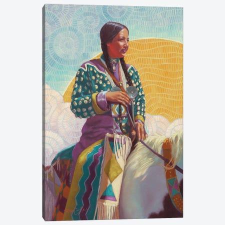 She Follows The Sun Canvas Print #TEH24} by Terry C. Hall Canvas Art