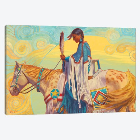 August Winds Canvas Print #TEH2} by Terry C. Hall Canvas Artwork