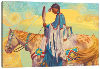 August Winds Canvas Art Print