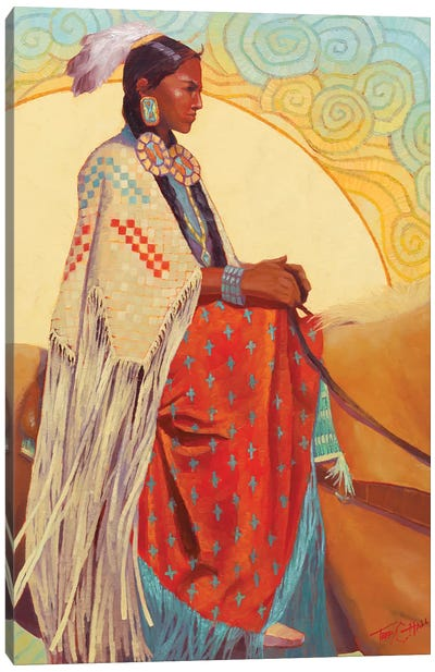Sun Daze Canvas Art Print