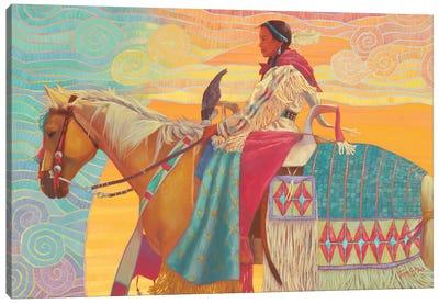 Walking On Sunshine Canvas Art Print