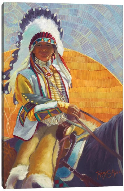 Fledgling Canvas Art Print